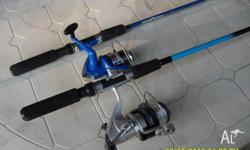 I have 2 childrens fishing rods for sale. 5ft Sport