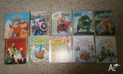 24 x hard cover Golden Books in excellent condition.
