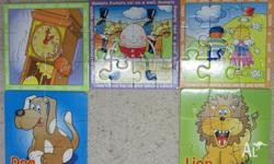 5 childrens puzzles as seen in the pictures. $5