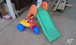 Excellent condition, hardly used childrens slide. Very