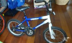 childs 16 inch bike. some minor rust but otherwise good