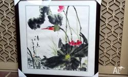 Assorted Original Chinese Brush Painting on Rice Paper