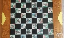 Chinese Theme Chess Set, in good condition, all pieces