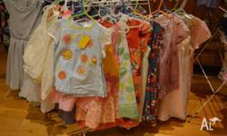 Huge selection of girls clothes available this Sunday