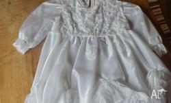 Christening dress, European design, never worn, colour