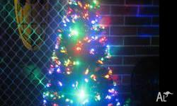 Now on Sale 1.5meter Xmas Trees, LED+FIber optic easy