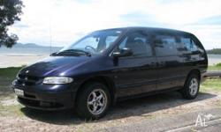 Chrysler Grand Voyager, 1998, auto, 7 seater, air bags,