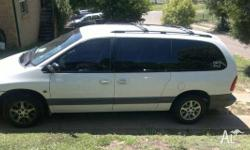 Chrysler Grand Voyager. tint windows, electric seats,