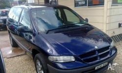 CHRYSLER,GRAND VOYAGER,GS,1999, Blue, WAGON, AUTOMATIC,
