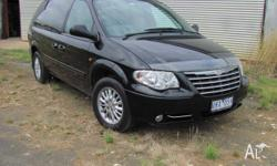 One owner Chrysler Voyager LX 7 seater. Serviced