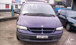 CHRYSLER,GRAND VOYAGER,GS,1999, FWD, BLUE, 4D WAGON,