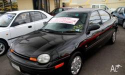 CHRYSLER,NEON,1997, FWD, BLACK, 4D SEDAN, 1995cc, 98kW,