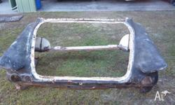 1962 Chrysler Valiant S Series Rear Back End, rust free