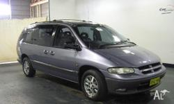 CHRYSLER,VOYAGER,GS,1998, FWD, GREY, 4D WAGON, 3301cc,