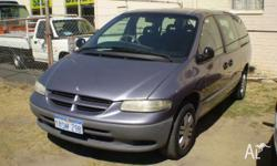 CHRYSLER,VOYAGER,GS,2000, FWD, BLUE, 4D WAGON, 3301cc,