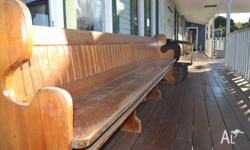 Church pew $600 each 2 available; will sell seperately