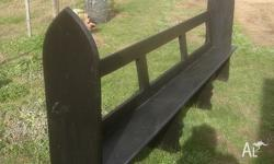 Lovely church pew dating from around the 1870 period-