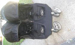2010 Model Twin City Mini Baby Jogger Twin Pram. Comes