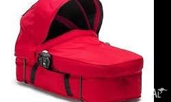 Baby Jogger City Select Bassinet in Ruby for sale.