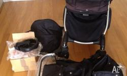 City jogger pram used for our last child comes with