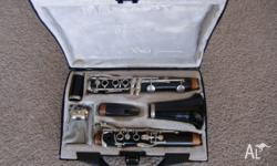 This clarinet was serviced about 18 mths ago and not