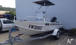 I have a 14ft clark alluminium center console with a