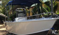 Selling our 3 month old Clark Abalone 4.55m with 70HP