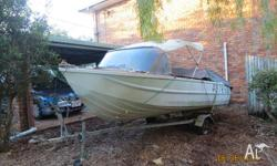 Firstime advertised. Clark Boat and Redco trailer both