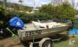 I have up for sale my 13ft Clark dinghy/tinnie with a