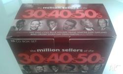 Classic 30s, 40s, 50s collectors music CD box set,