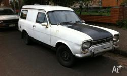 RARE Classic 1973 Mark1 Ford Escort Panel Van for