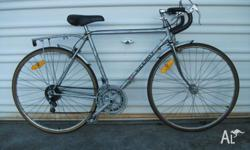 1980's Gent's VICEROY 10 Speed Racer in Silver 53cm