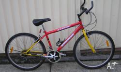 CLASSIC ROCKRIDER MOUNTAIN BIKE IN VERY GOOD CONDITION.