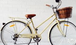 SAMSON CYCLES 6 SPEED VINTAGE LADIES BICYCLE � � � � �