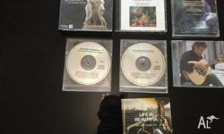 8 classical music CDs plus one Andrea Bocelli. None of