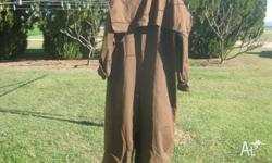 FOR SALE Claybourne oilskin horse riding coat (has the