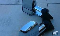 Clearview mirrors in used but excellent condition. I