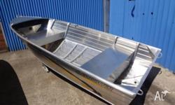 DEEP VEE 2 SEAT DINGHY THAT CUTS THE WATER WELL AND IS