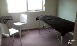 Clinic room available for rent on Monday, Wednesdays or