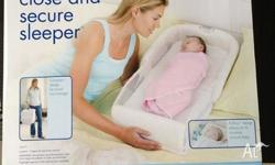 The First Years Close and Secure Sleeper. Great for