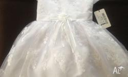 Flower girl dress. Brand new paid $78.95. Size 2years -