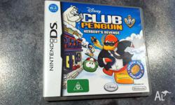 Club Penguin Herberts Revenge Nintendo and 3DS game. In