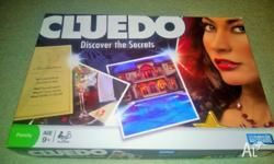 Cluedo �Discover the Secrets� Board Game 2008 Parker -