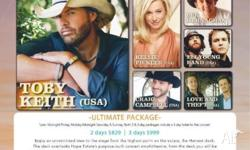 **2 x Tickets** **$900 each** **3 day package** I went