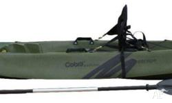 Cobra Escape = single SOT Kayak inc deluxe seat &