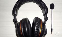 AM SELLING MY BARELY USED WIRELESS GAMING HEADSET (RRP