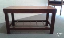 I recently restored this coffee table bought at garage
