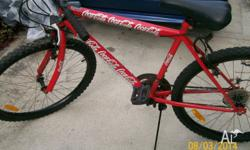 I HAVE FOR SALE THIS COKE COLA BIKE 18 SPEED IN GOOD