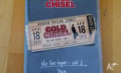 COLD CHISEL - THE LIVE TAPES VOL 1 DVD Brand New With