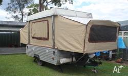 Coleman Camper Van. 1985 model with full annex.